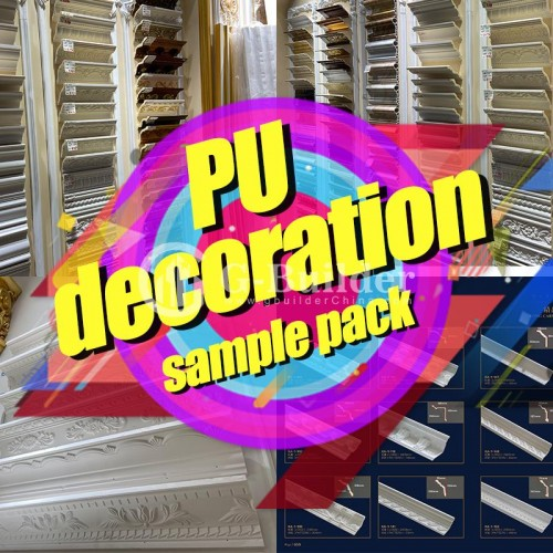 PU decoration Sample Pack Ceiling & Wall Decoration